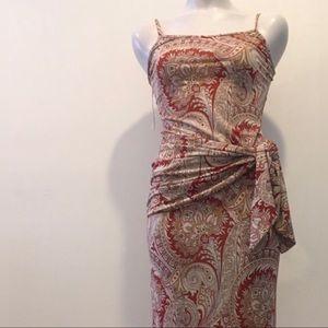 Wet Seal Dresses - Wet Seal Paisley Maxi Dress